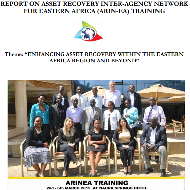 ARIN-EA ARUSHA TRAINING FINAL REPORT